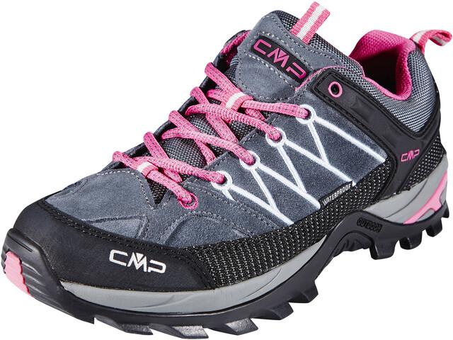 CMP Campagnolo Rigel Low WP Scarpe Donna grigio rosa su Addnature 78d926b6e18